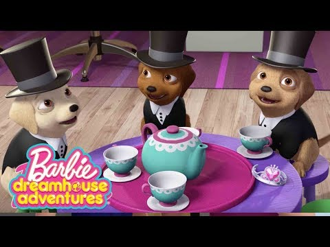 чаепитие со щенками | Barbie Dreamhouse Adventures | Barbie Россия 3+