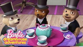 чаепитие со щенками 🐶☕️островные принцессы 💖Отрывки из фильмов Барби