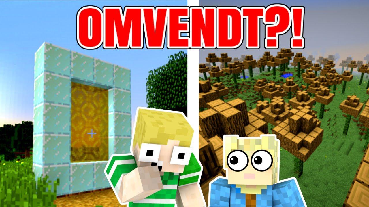 Download Dansk Minecraft - ALT ER OMVENDT!!