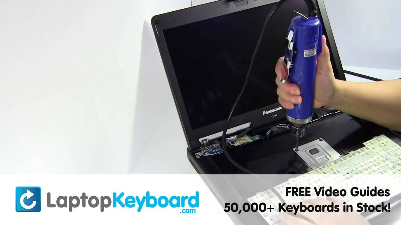 panasonic toughbook cf 53 keyboard installation. Black Bedroom Furniture Sets. Home Design Ideas