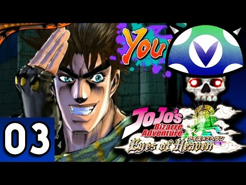 [Vinesauce] Joel - Jojo's Bizarre Adventure: Eyes of Heaven ( Part 3 )