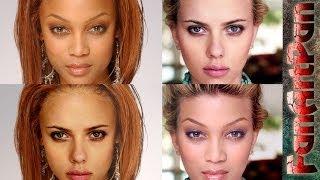 УРОКИ ФОТОШОПА. Самый быстрый фотомонтаж: замена лица в фотошопе