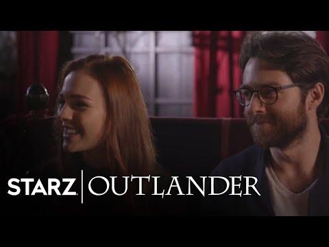 Outlander | Sophie Skelton and Richard Rankin Season 3 Interview | STARZ