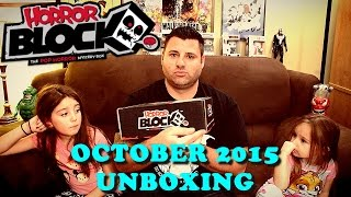 Horror Block :: October 2015 Unboxing :: Friday the 13th, Child