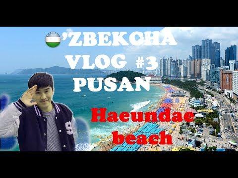 O'zbekcha vlog-#3 Pusan shahri (2 qism)