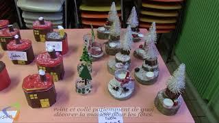 Marché de Noël à l'Espace Gavroche à Avallon (89)
