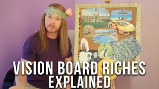 How to Make a Vision Board (Funny) - Ultra Spiritual Life episode 10 - with JP Sears