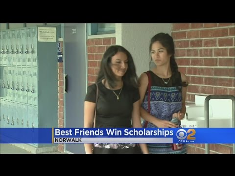 Best Friends From Norwalk High School Earn Exclusive College Scholarships