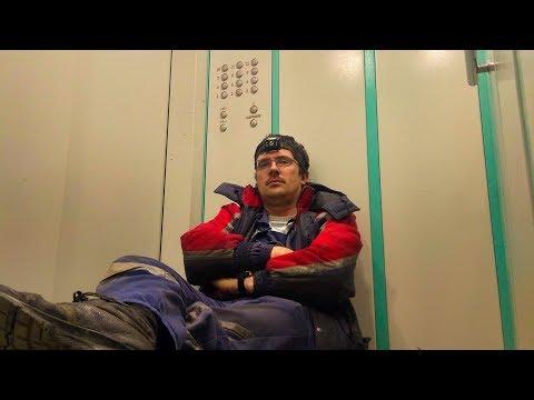Починил лифт, поумничал и тут же застрял в нем