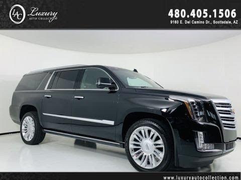 2018 Cadillac Escalade: Design, Performance, Equipment, Price >> 2018 Cadillac Escalade Esv Platinum Rear Wheel Drive Suv