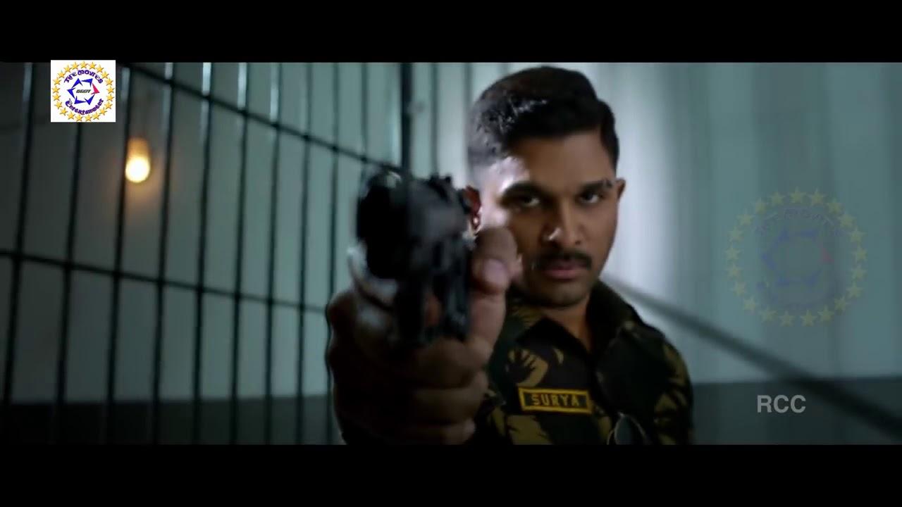 Allu Arju Surya The Brave Soldier Naa Peru Surya 2018 Hindi Dubbed Trailer 720p Hd Mp4