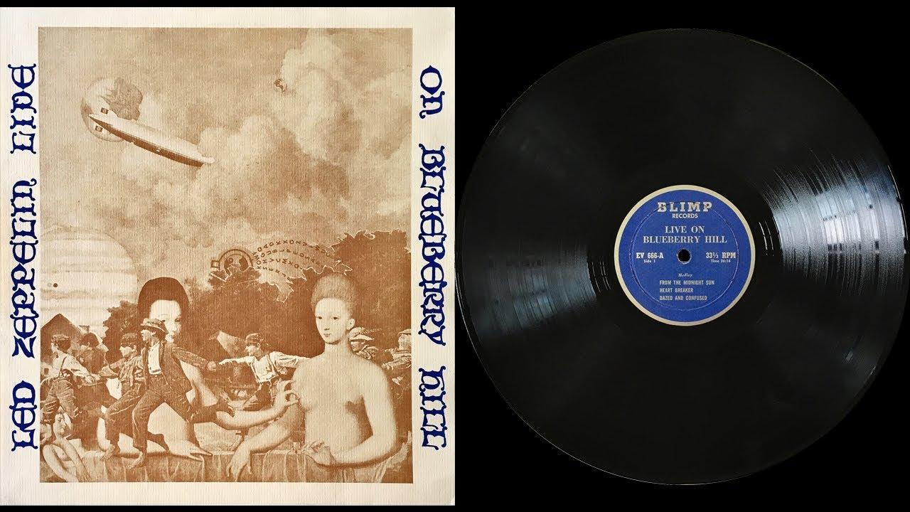 LIVE ON BLUEBERRY HILL Led Zeppelin
