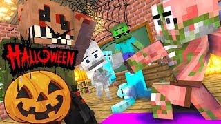 Monster School : HALLOWEEN SPECIAL - HORROR GAME Challenge - Minecraft Animation