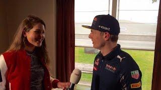 Zeldzaam interview met Max Verstappen