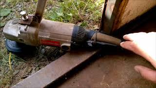 триммер газонокосилка из болгарки за 400р