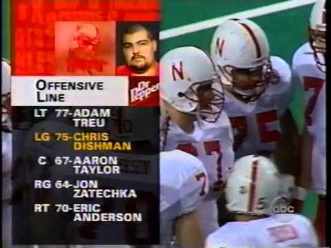 Texas v Nebraska 1996 1st Half pt 1