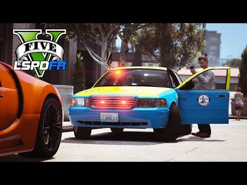 GTA 5 - LSPDFR Ep199 - BAIT CAR in Undercover Taxi Police Car!!