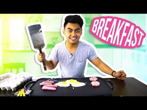 Thumbnail: GUAVA JUICE COOKS BREAKFAST EGGS AND SAUSAGE GRIDDLE MUBANG!