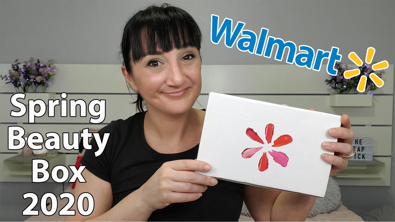Unboxing Walmart's Beauty Box | Spring 2020 | Might Be My Favorite Box Yet