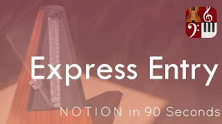 Express Entry—PreSonus Notion in 90 Seconds