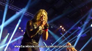 "STEEL PANTHER ""Just Like Tiger Woods"" live in Vienna (Austria)"