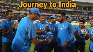 Mohammed siraj journey to India