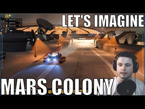 This Is What a Mars Colony Will Probably Look Like - Project Eagle
