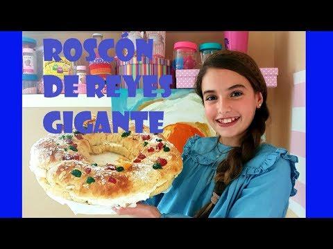 ¡¡¡ ROSCÓN DE REYES GIGANTE !!! Esther Masterchef Junior 5 | Esther Requena Varo | EstherMCJ5