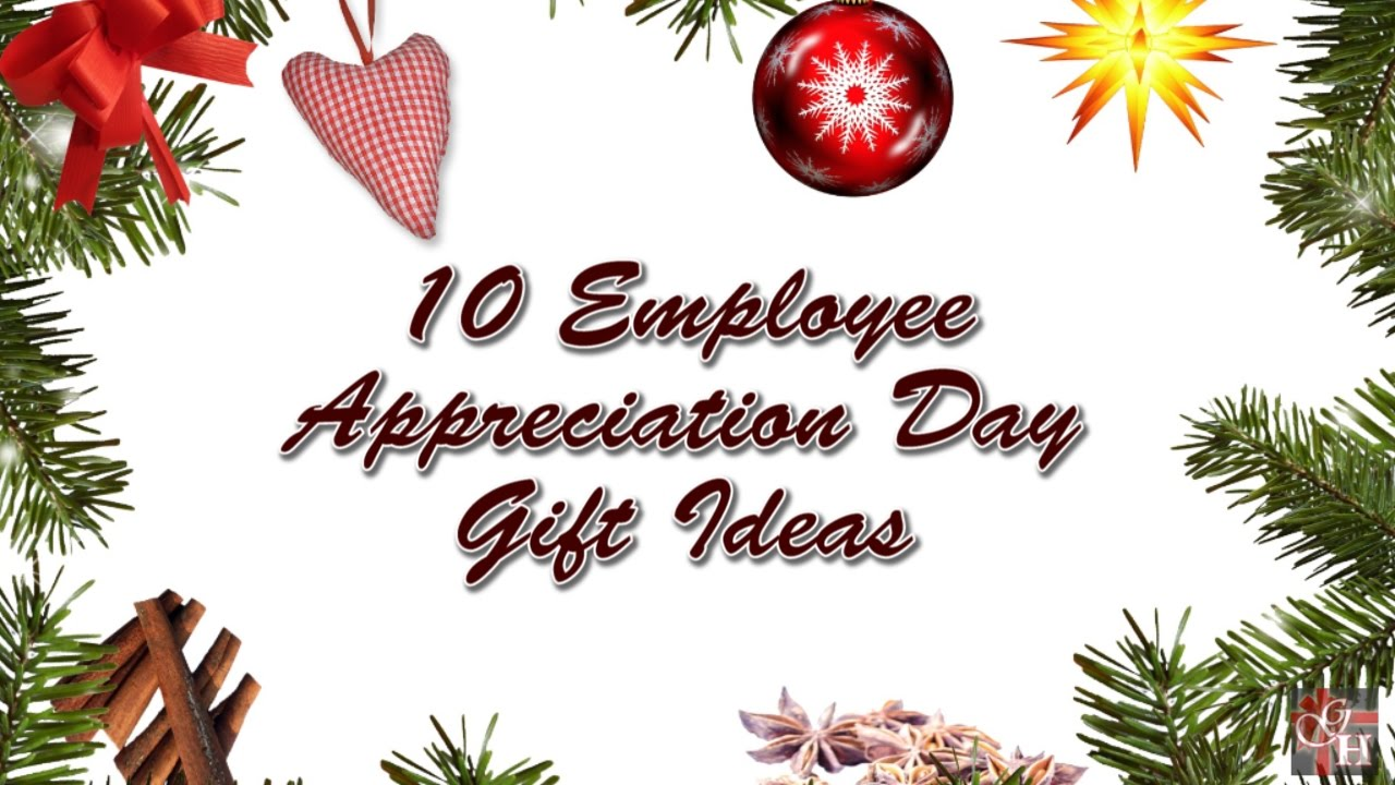 10 Employee Appreciation Day Gift Ideas - YouTube