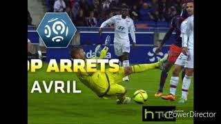 Ligue 1 - top arrêts avril - 2015/16
