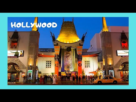 HOLLYWOOD, outside the famous Chinese Theater in CALIFORNIA (USA)