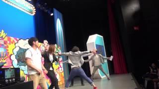 5月5日に、よしもと幕張イオンモール劇場で行われた「爆ハリ!SP」に...