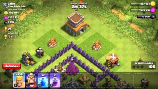 Clash of clans//Neue Base//Volles D-Elex Lager