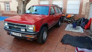 Chevrolet blazer s10 1990