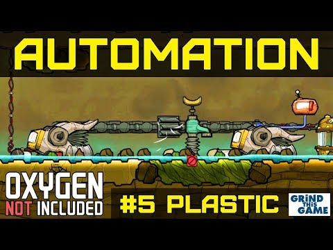 NEW AUTOMATION BASE #5 - Petroleum & Plastic & Polymer Press- Oxygen Not Included Automation Upgrade
