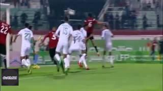 هدف اتحاد العاصمة الاول ضد مولودية الجزائر كأس السوبر USMA 2-0 MCA HD 2016