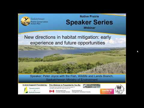 New directions in habitat mitigation  early experience and future  opportunities