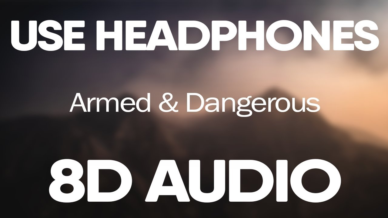 Juice WRLD – Armed And Dangerous (8D AUDIO)