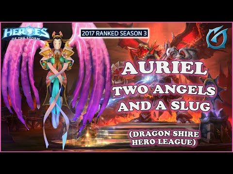 Grubby | Heroes of the Storm - Auriel - Two Angels and the Slug - HL 2017 S3 - Dragon Shire