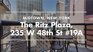 NYC Apartment Tour | Furnished Rental in Ritz Plaza, New York