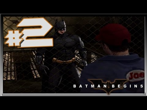 BATMAN BEGINS: Walkthrough Part 2 JOE vs The Dark Knight (GC)