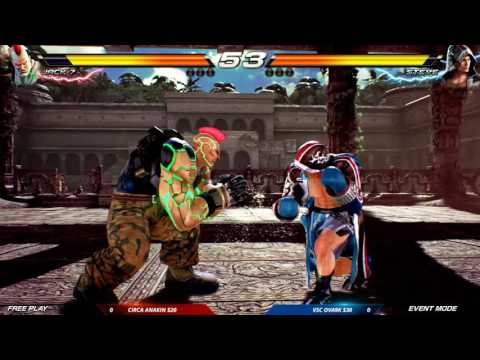 CEO 2016: Tekken 7 FR: Auction Tournament: Circa Anakin vs VSC Ova9k