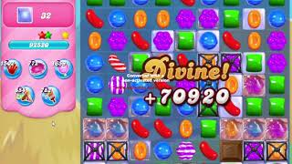 Candy Crush Saga Level 1585 NO BOOSTERS no timed level