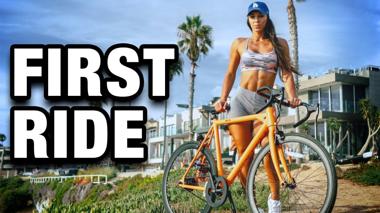 Vanessa Follador Rides The Babymaker Electric Road Bike First