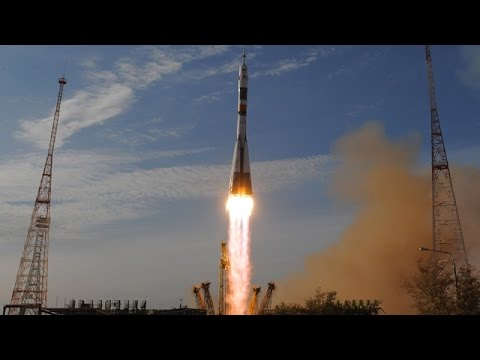 Expedition 49 Launch on Soyuz rocket