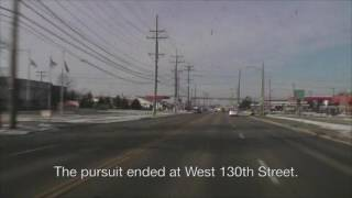 Dash cam shows 100 mph police chase in Parma ...