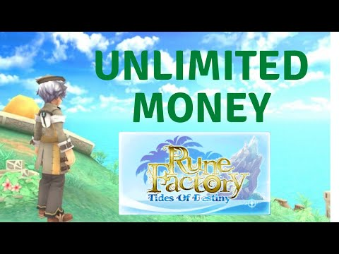 Unlimited Money In Rune Factory: Tides Of Destiny