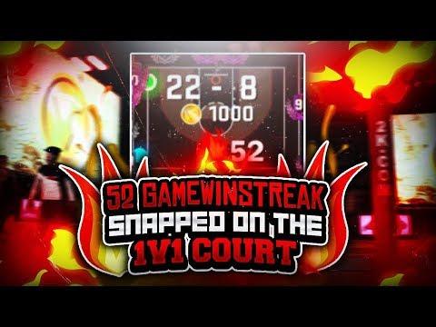 (INTENSE GAME) 52 GAME WINSTREAK SNAPPED AT THE 1V1 COURT • STRETCH CLEANER VS ANNOYING POST SCORER