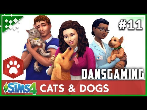 Let's Play The Sims 4: Cats & Dog Expansion (Part 11) - Dansgaming