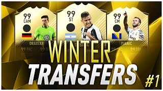 INCREDIBILE! DYBALA E PJANIC VIA DALLA JUVE!? - WINTER TRANSFERS [FIFA 17]